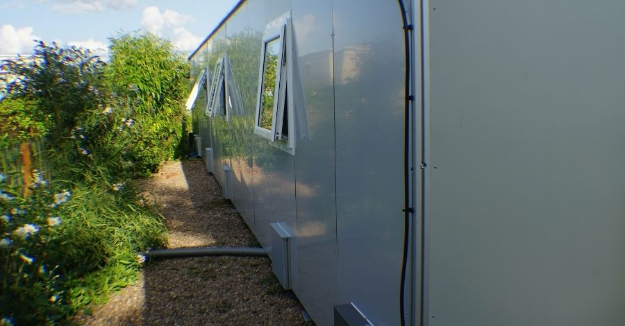 Modular Living in a Temporary Solutions Group pod