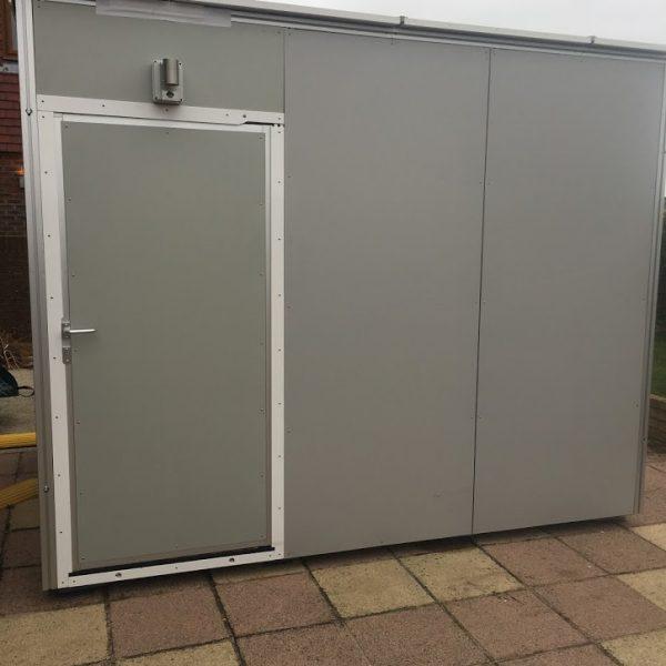 3x2 modular bathroom by the Temporary Storage Group