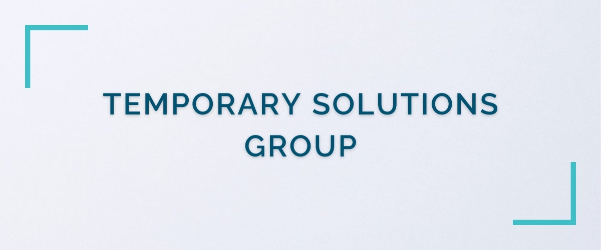 Temporary Solutions Group header image
